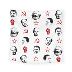 Communist Leaders Square Tapestry (small)