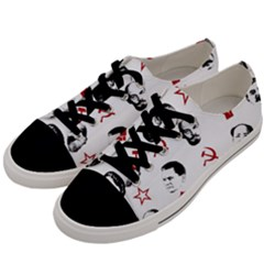 Communist Leaders Men s Low Top Canvas Sneakers by Valentinaart