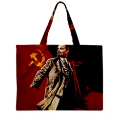 Lenin  Zipper Mini Tote Bag by Valentinaart