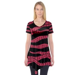 Blood Tentacles Short Sleeve Tunic  by jumpercat
