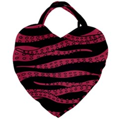Blood Tentacles Giant Heart Shaped Tote by jumpercat