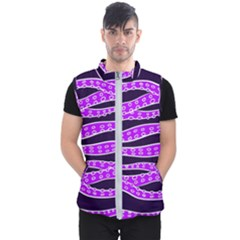 Purple Tentacles Men s Puffer Vest
