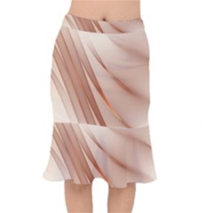 Background Light Glow Abstract Art Mermaid Skirt