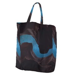 Abstract Adult Art Blur Color Giant Grocery Zipper Tote