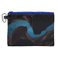 Abstract Adult Art Blur Color Canvas Cosmetic Bag (xl) by Nexatart
