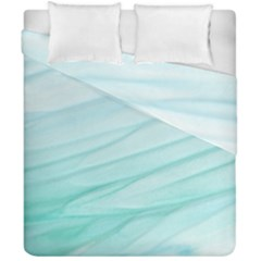 Texture Seawall Ink Wall Painting Duvet Cover Double Side (california King Size) by Nexatart