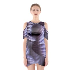 Sea Worm Under Water Abstract Shoulder Cutout One Piece