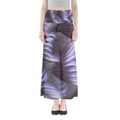 Sea Worm Under Water Abstract Full Length Maxi Skirt