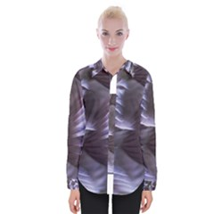 Sea Worm Under Water Abstract Womens Long Sleeve Shirt