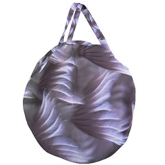 Sea Worm Under Water Abstract Giant Round Zipper Tote