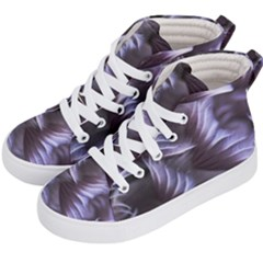 Sea Worm Under Water Abstract Kid s Hi Top Skate Sneakers by Nexatart