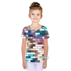 Background Wall Art Abstract Kids  One Piece Tee