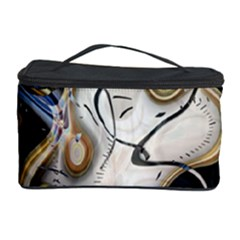 Time Abstract Dali Symbol Warp Cosmetic Storage Case