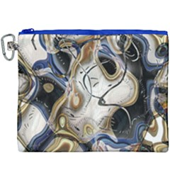 Time Abstract Dali Symbol Warp Canvas Cosmetic Bag (xxxl)