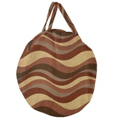 Backgrounds Background Structure Giant Round Zipper Tote
