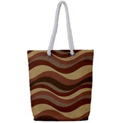 Backgrounds Background Structure Full Print Rope Handle Tote (small)