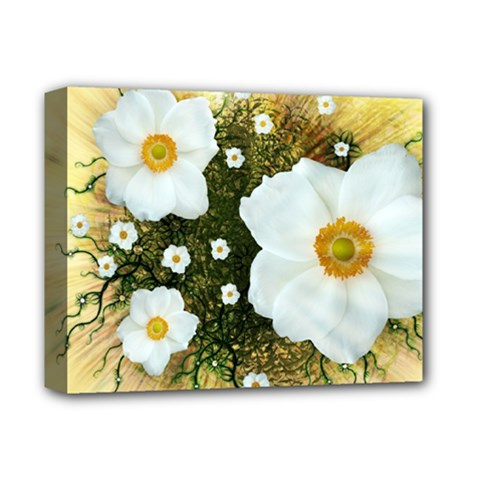 Summer Anemone Sylvestris Deluxe Canvas 14  X 11