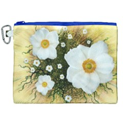 Summer Anemone Sylvestris Canvas Cosmetic Bag (xxl) by Nexatart