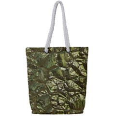 Seamless Repeat Repetitive Full Print Rope Handle Tote (small)