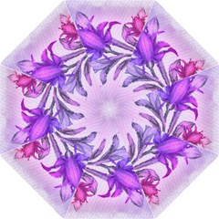 Flowers Flower Purple Flower Hook Handle Umbrellas (large)