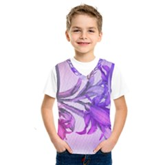 Flowers Flower Purple Flower Kids  Sportswear