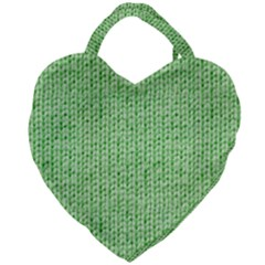 Knittedwoolcolour2 Giant Heart Shaped Tote