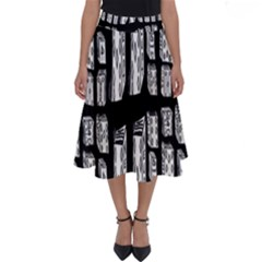 Numbers Cards 7898 Perfect Length Midi Skirt