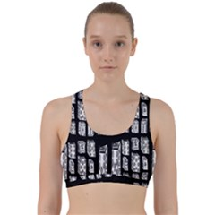 Numbers Cards 7898 Back Weave Sports Bra by MRTACPANS