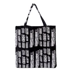 Numbers Cards 7898 Grocery Tote Bag by MRTACPANS