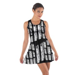 Numbers Cards 7898 Cotton Racerback Dress