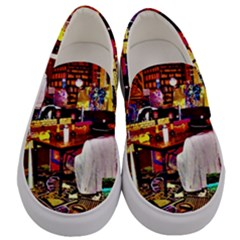 Home Sweet Home Men s Canvas Slip Ons