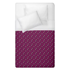 Pink Flowers Magenta Duvet Cover (single Size) by snowwhitegirl