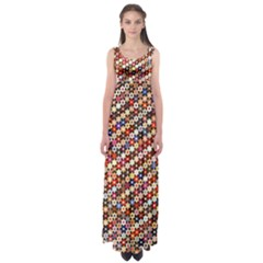 Tp588 Empire Waist Maxi Dress