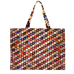 Tp588 Zipper Large Tote Bag by paulaoliveiradesign