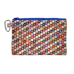 Tp588 Canvas Cosmetic Bag (large) by paulaoliveiradesign