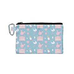 Baby Pattern Canvas Cosmetic Bag (small)
