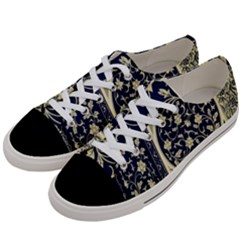 Background Vintage Japanese Women s Low Top Canvas Sneakers by Nexatart