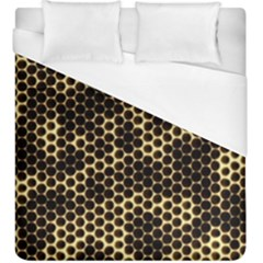 Honeycomb Beehive Nature Duvet Cover (king Size)