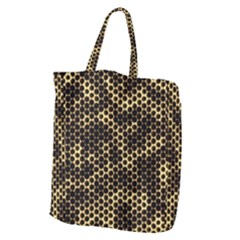 Honeycomb Beehive Nature Giant Grocery Zipper Tote