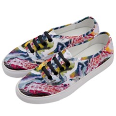 Abstract Art Detail Painting Women s Classic Low Top Sneakers by Nexatart