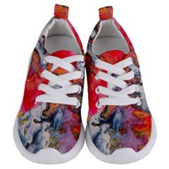 Art Abstract Macro Kids  Lightweight Sports Shoes