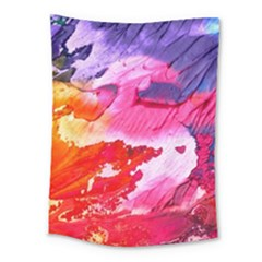 Abstract Art Background Paint Medium Tapestry
