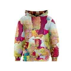 Art Detail Abstract Painting Wax Kids  Pullover Hoodie