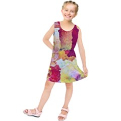 Art Detail Abstract Painting Wax Kids  Tunic Dress
