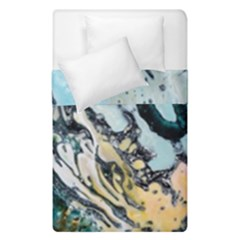 Abstract Structure Background Wax Duvet Cover Double Side (single Size)