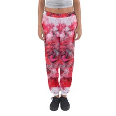 Flower Roses Heart Art Abstract Women s Jogger Sweatpants