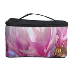 Flowers Magnolia Art Abstract Cosmetic Storage Case by Nexatart