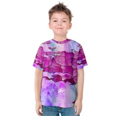 Background Crack Art Abstract Kids  Cotton Tee