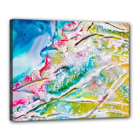 Art Abstract Abstract Art Canvas 20  X 16
