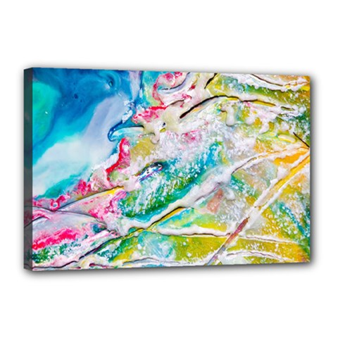Art Abstract Abstract Art Canvas 18  X 12
